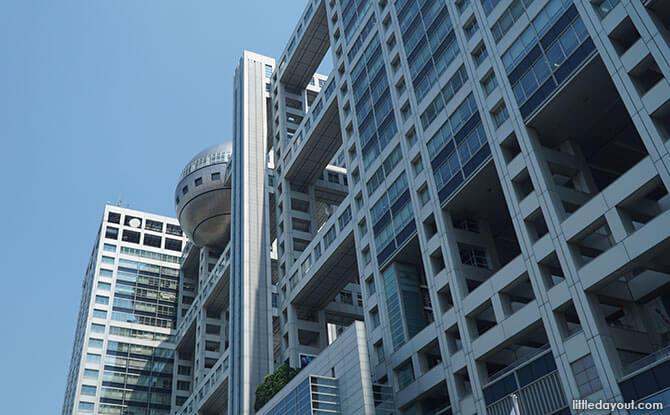 Fuji TV Building, Odaiba, Tokyo, Japan
