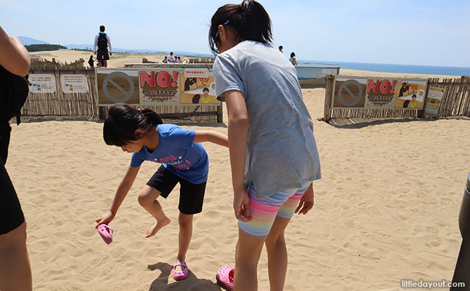 Visiting the Tottori Sand Dunes