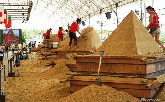 Sentosa International Sand Sculpting Championships