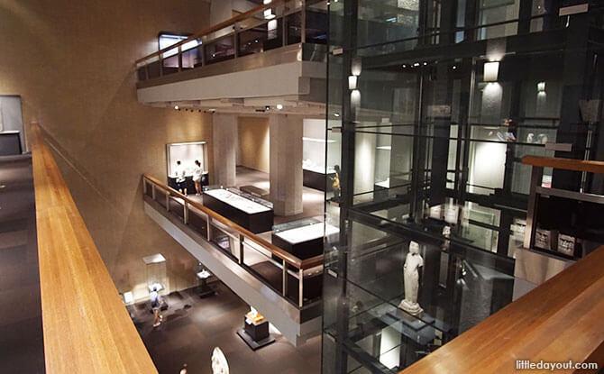 Inside the Toyokan or Asian Gallery