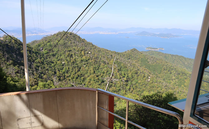 View from Mount Misen