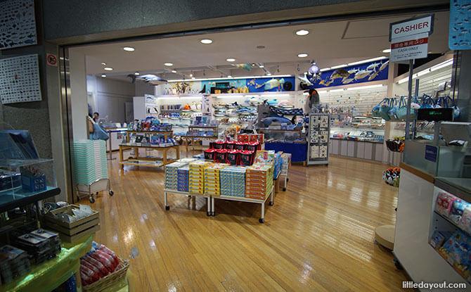 Shop at Tokyo Sea Life Park