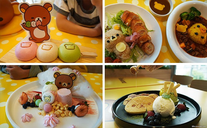 Kumoya Rilakkuma -The Relax Café: Chill Out At Orchard Central