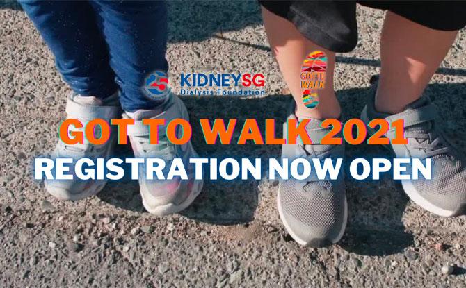 Got To Walk 2021 by Kidney Dialysis Foundation