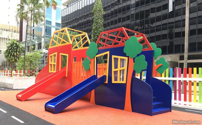 Playground at MindChamps PreSchool Concorde