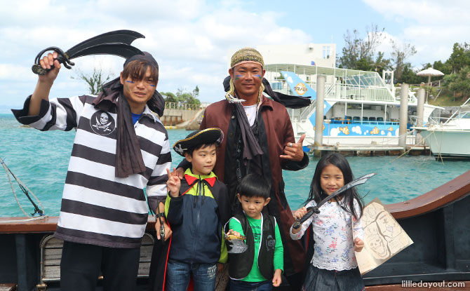 Pirate Game at Renaissance Hotel, Okinawa