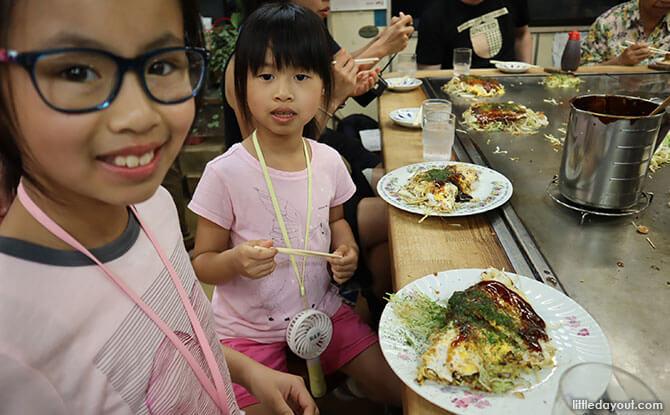 Dinner in Hiroshima