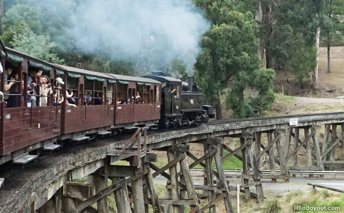 Puffing Billy, Dandenongs
