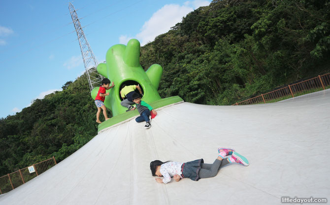 Nagagusuku Park, Play area