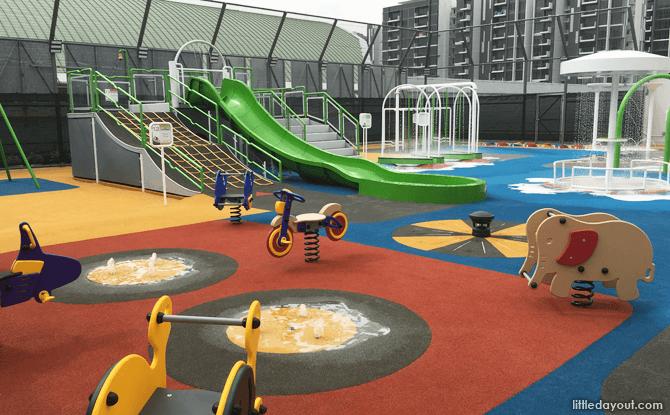 Compass One Playground - Shopping Mall Playground