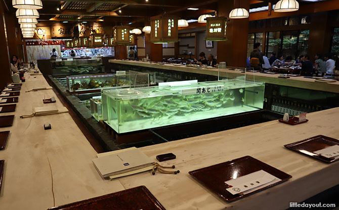 Chikae Live Seafood restaurant