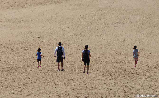 Exploring the Tottori Sand Dunes