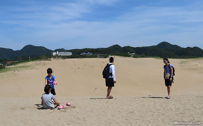 Day trip to Tottori, the least populated prefecture of Japan