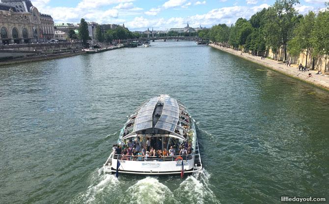 Boat on the Seine, Paris