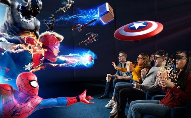Marvel Universe 4D Film