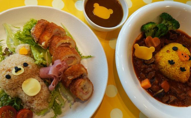 Food at The Relax Café - Kumoya Orchard