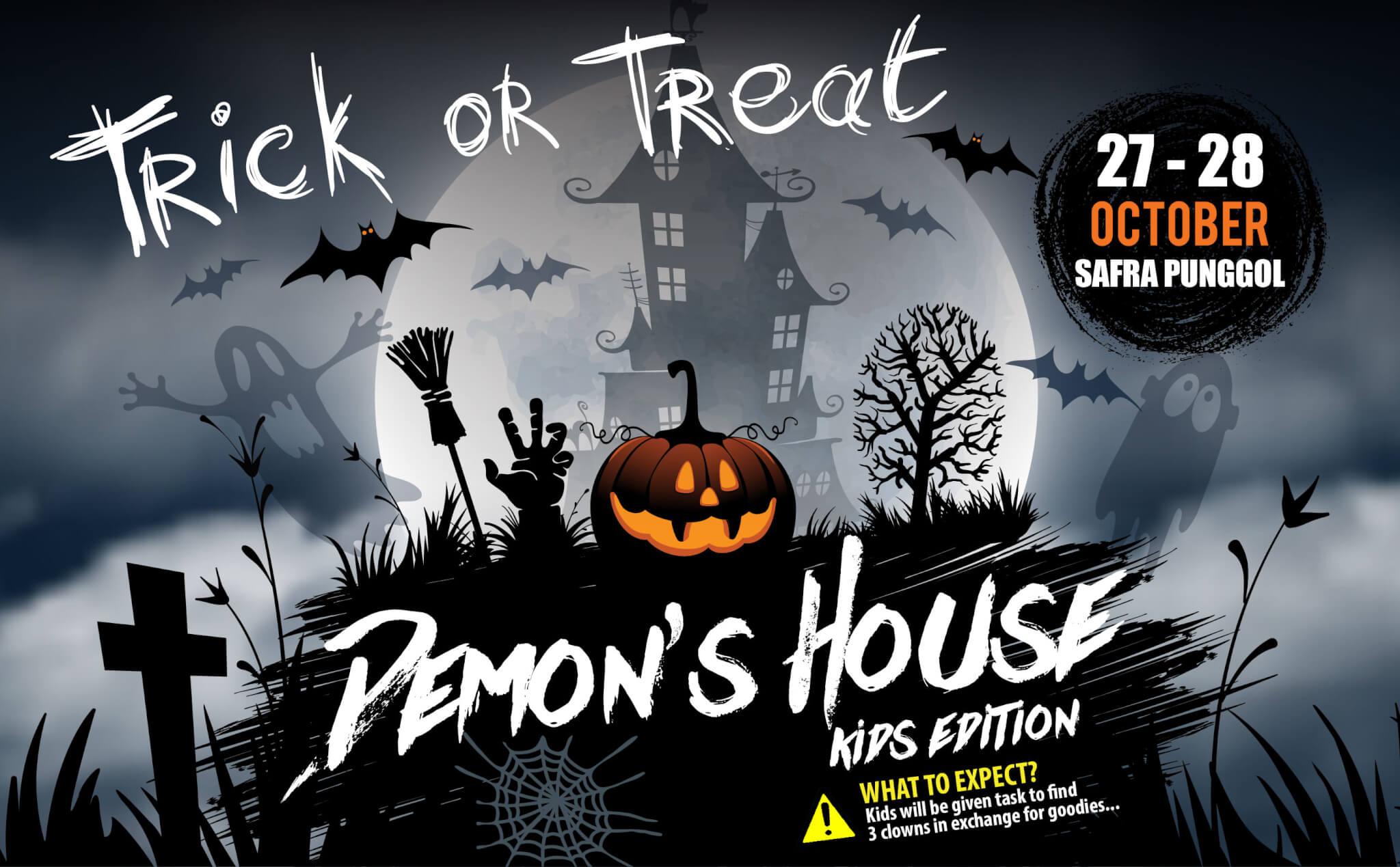 SAFRA Punggol's Demon's House, 27 to 28 Oct 2017