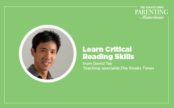 Straits Times Masterclasses: Learn Critical Reading Skills