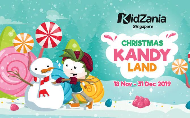 KidZania Singapore presents Christmas Kandy Land