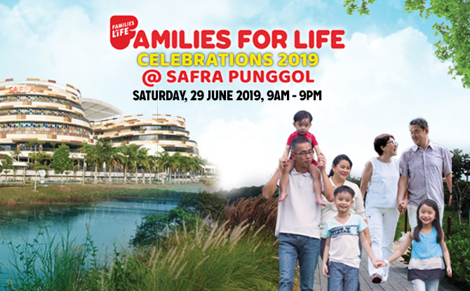 Families for Life Celebrations 2019 @ SAFRA Punggol