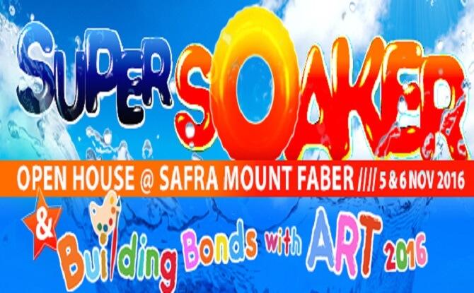 SAFRA Mount Faber's Super Soaker Open House