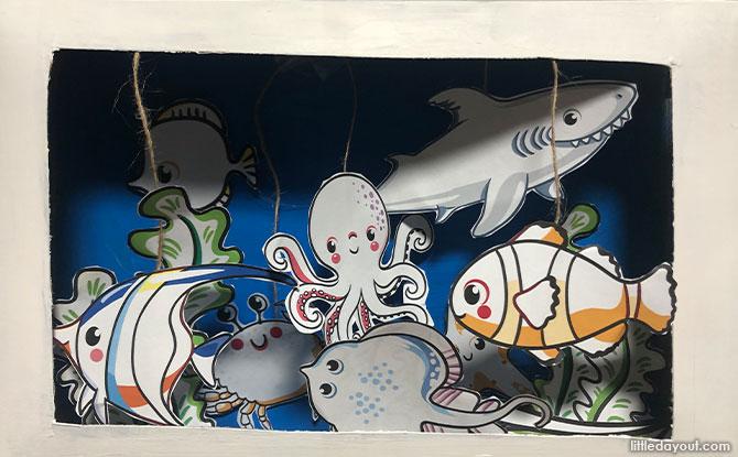 Display your new aquarium