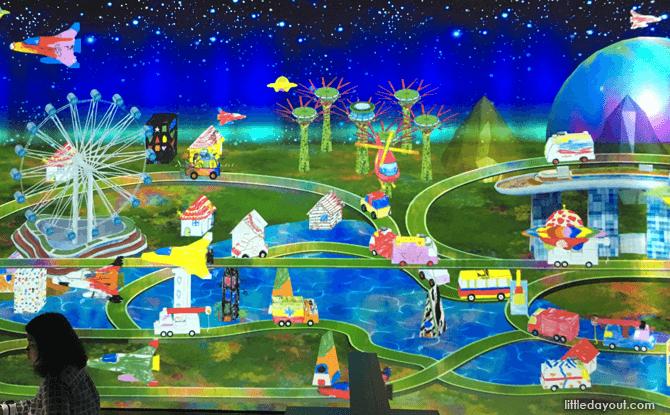 ArtScience Museum Future World sketch town