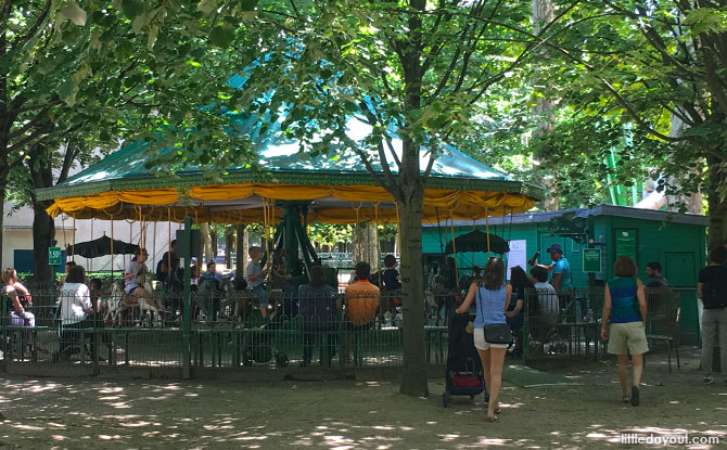 Carousel at Luxembourg Gardens