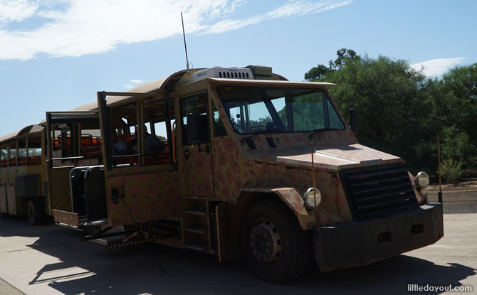 Werribee Zoo's Safari Bus