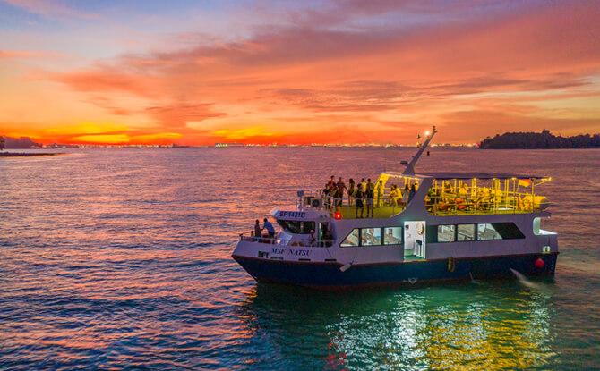 8 sunset cruise e