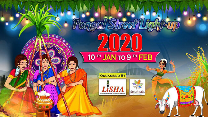 Pongal Street Light Up and Opening Ceremony