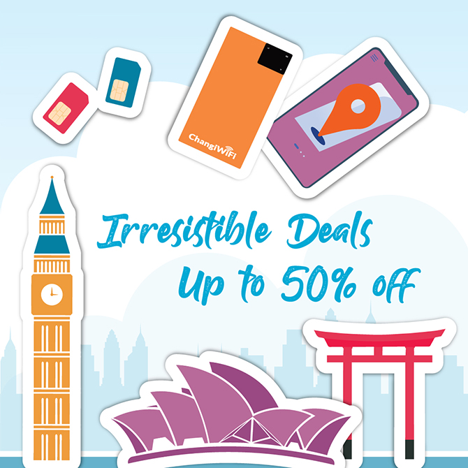 Exclusive Offers and Great Prices on Travel Essentials - Changi Recommends Travel Fair 2020