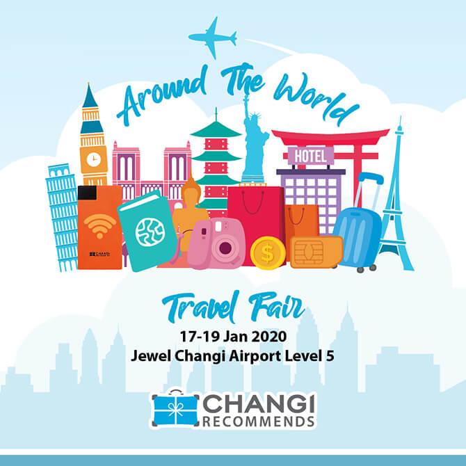 "Changi Recommends ""Around the World"" Travel Fair"