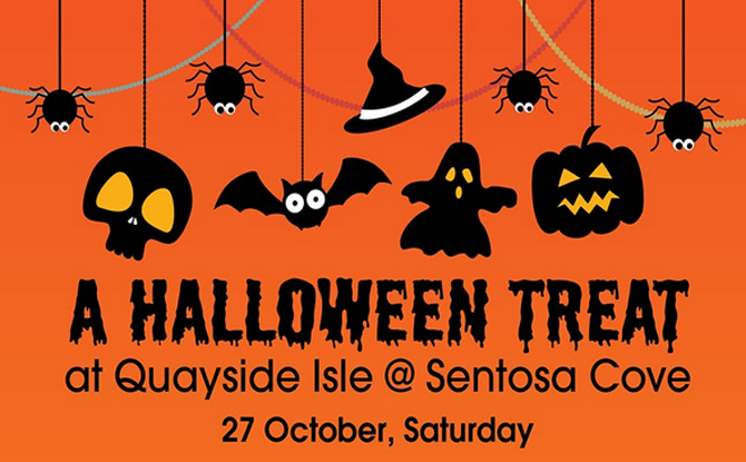A Halloween Treat at Quayside Isle @ Sentosa Cove