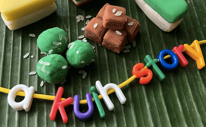 Parent-Child Workshop: A Kuih Story – A Sensory Play Experience