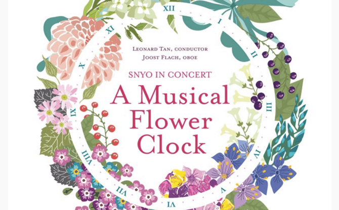 Singapore National Youth Orchestra In Concert – A Musical Flower Clock