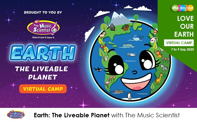 September Holiday Virtual Camps 2020: Love Our Earth Camp - The Music Scientist
