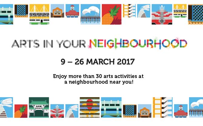 Arts in Your Neighbourhood