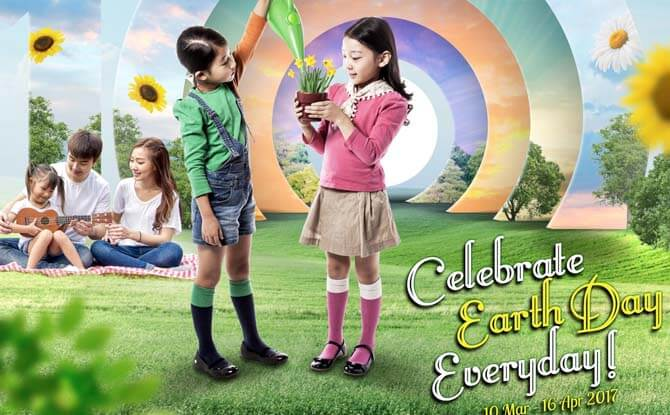 Celebrate Earth Hour at AMK Hub