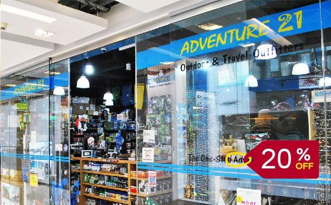 Adventure 21 20% Discount Deal