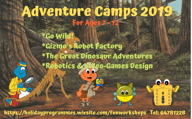 Kaesac Learning Centre Adventure 2019 Camps