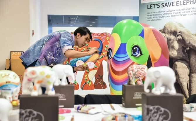 Affordable Art Fair artist
