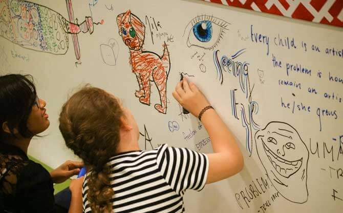 Affordable Art Fair kids