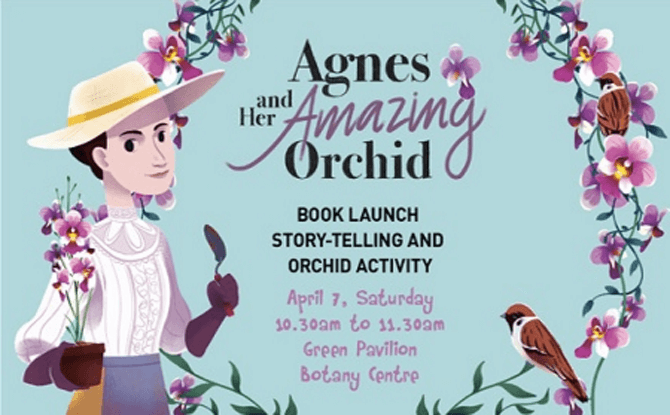 """Book Launch & Story telling of """"Agnes and Her Amazing Orchid"""""""