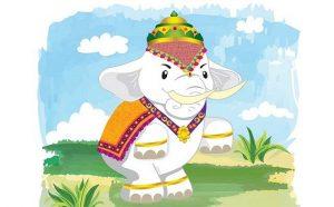 Airavata and His Mammoth Task