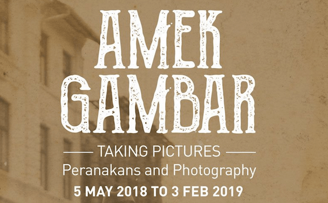 Amek Gambar: Peranakans and Photography