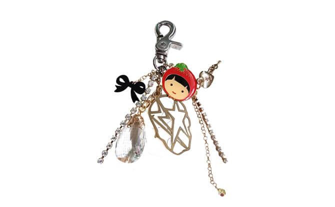 Ang Ku Kueh Girl Bag Charm – Rock Chic $50, from angkukuehgirl.com