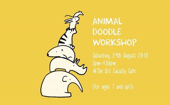 Animal Doodle Workshop 1