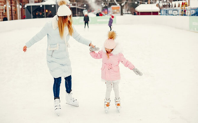 Aperia ice rink