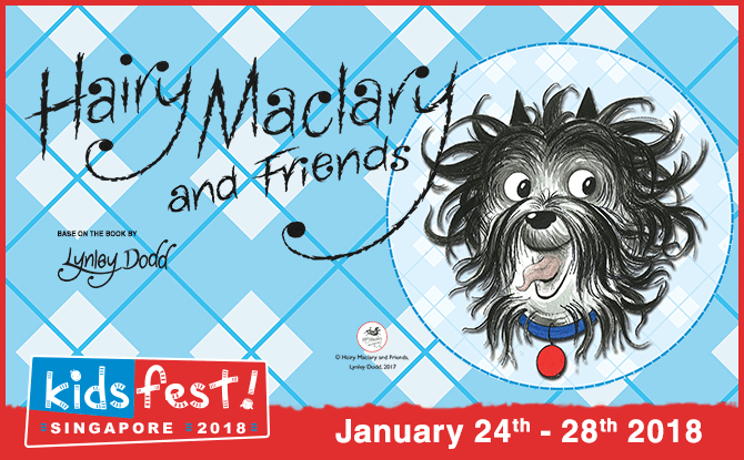 Hairy Maclary and Friends at Kidsfest 2018
